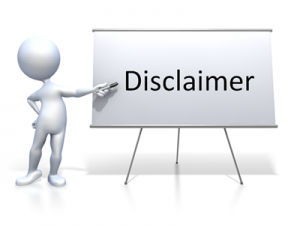 Disclaimer Privacy Policy Page And