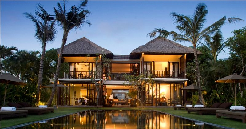 Beachfront Villa Sankara 40 Bedrooms Luxury Rental Luxury Villas Cool 5 Bedroom Villa Seminyak Style