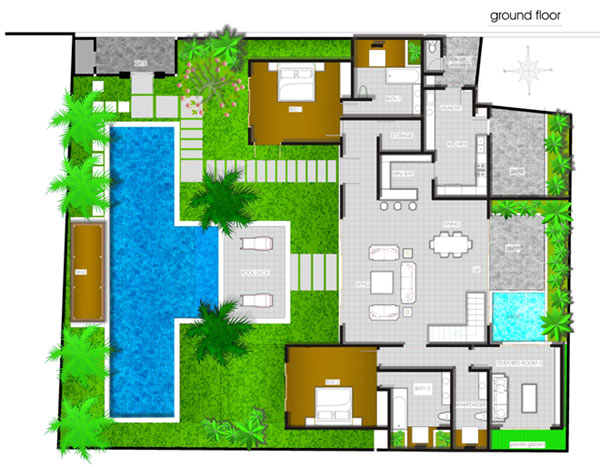 Tropical Villa Home Plans Joy Studio Design Gallery Best Design